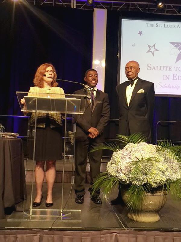 Suggs Award Recipient DeMario Malone