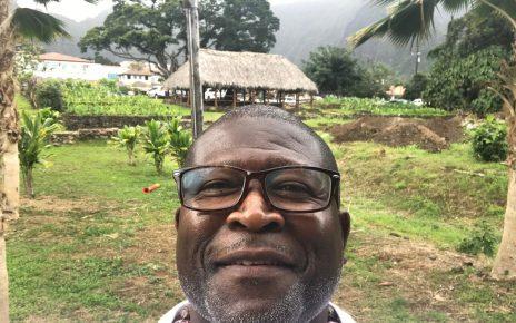 André Thorn selfie in Hawaii