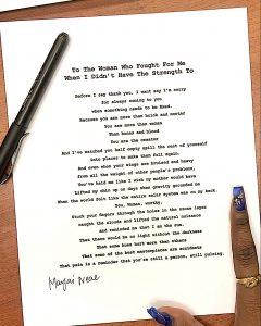 Marjai Neal Poem